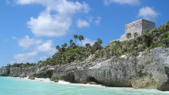 Tulum, ancienne cité maya. © DR
