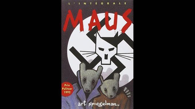 Couverture de l'intégrale «Maus», 1992.