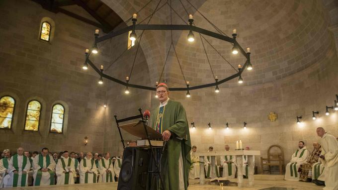 Le cardinal de Cologne Rainer Woelki était présent pour la cérémonie.