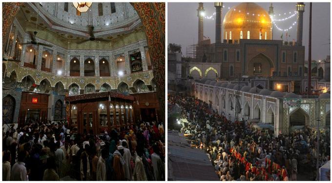 L'attentat au Pakistan, le 16 février 2017, a eu lieu lors d'un rassemblement de chiites dans un sanctuaire chiite du sud du pays.