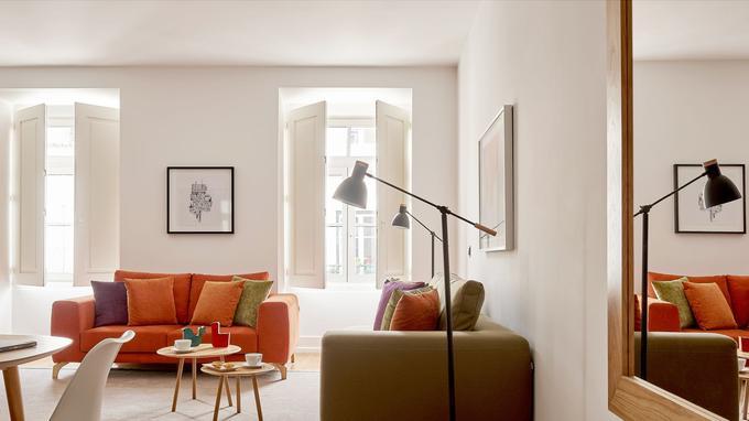 Un confortable appartement. © MARTINHAL CHIADO LISBONNE