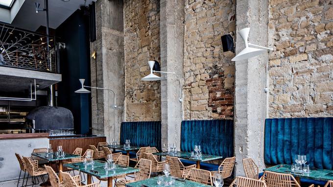 Le Daroco, trattoria-bar à cocktail a ouvert en mai dernier dans l'ancienne boutique amirale et siège de la griffe Jean Paul Gaultier.