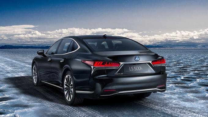 La Lexus LS 500h sera disponible en deux ou quatre roues motrices.
