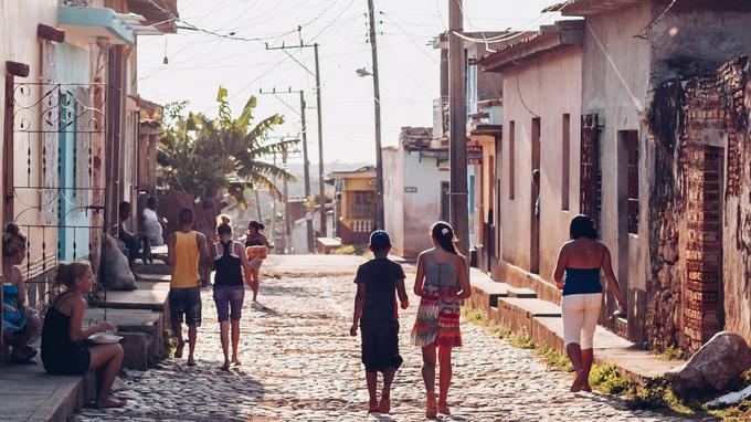 A Trinidad: langueur et douceur de vivre. © Olivier Romano.
