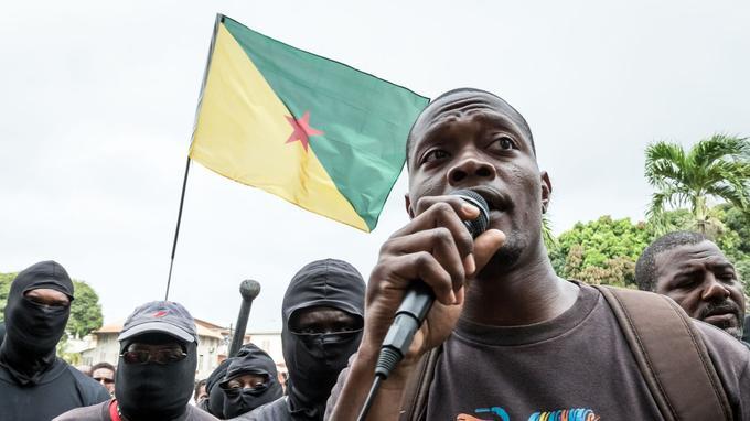 Le porte-parole du collectif des «500 frères» Mikael Mancee.