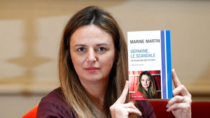 Marine Martin et son livre Dépakine, le scandale, Robert Laffont