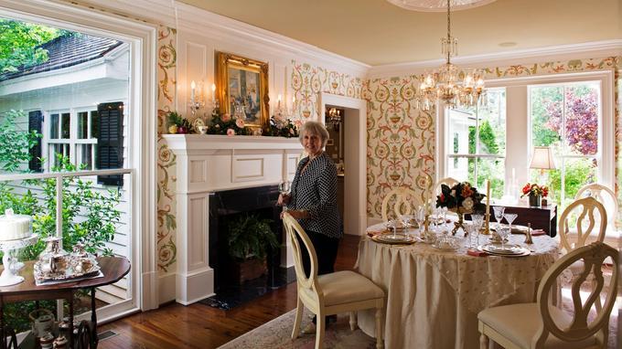 Kathi Russell vit dans l'une des plus belles demeures historiques de Madison, en Géorgie.