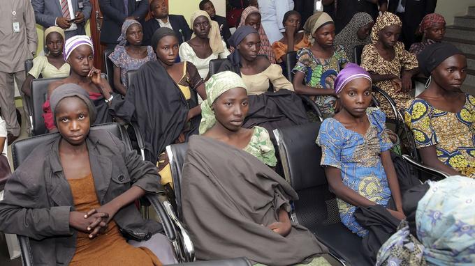 82 lycéennes ont été libérées des mains de Boko Haram.
