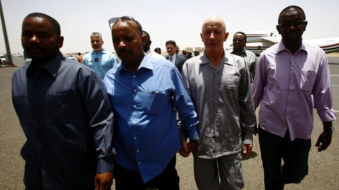 Thierry Frezier, un employé d'une compagnie minière âgé de 60 ans, a été libéré au Tchad.