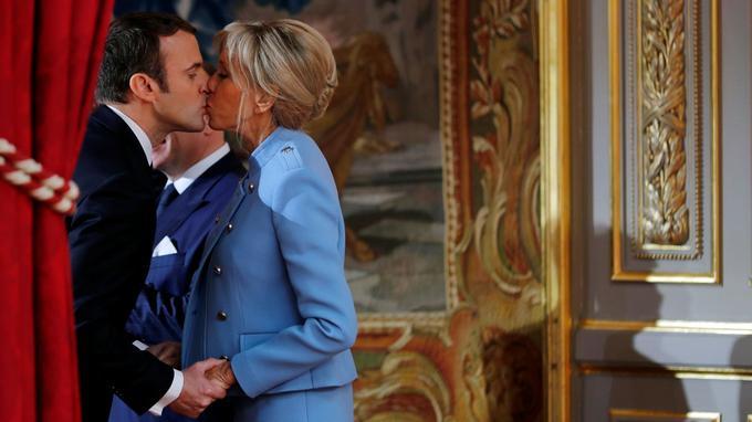Le couple présidentiel.