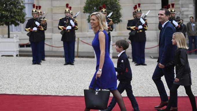 La belle-famille d'Emmanuel Macron.