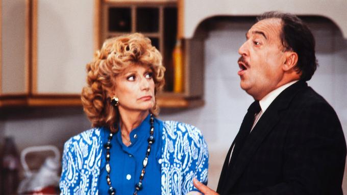 Le 4 septembre 1985 avec Rosy Varte, son épouse dans la série «Maguy».