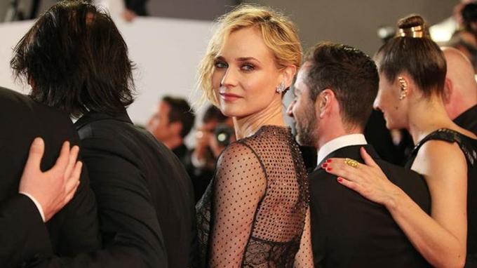 Diane Kruger lors de la présentation d' «In the Fade» à Cannes.Crédits photo: Gisela Schober/ Getty Images