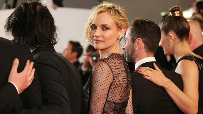 Diane Kruger lors de la présentation d' «In the Fade» à Cannes.Crédits photo: Gisela Schober/ Getty Images