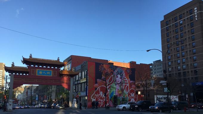 Montréal, le quartier chinois. © GD