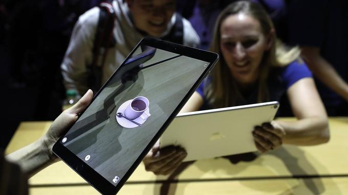 La réalité augmentée sur iPad Pro 10,5 pouces.