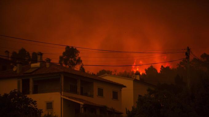 Au moins trois villages à proximité de Pedrogao Grande, où s'est déclaré l'incendie, ont été évacués.