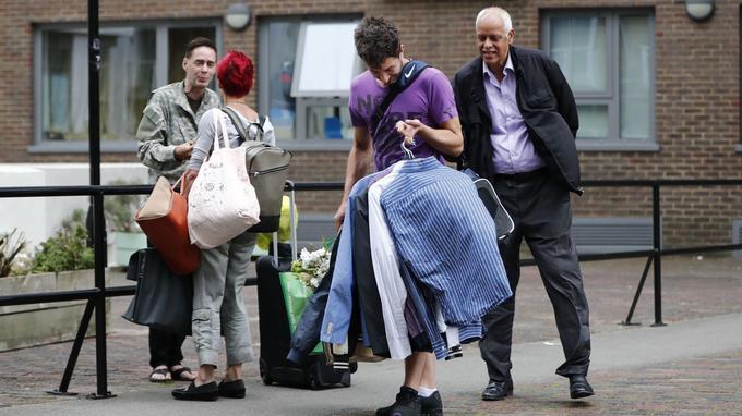 Des habitants de la municipalité de Camden à Londres ont été contraints de quitter précipitamment leur logement.