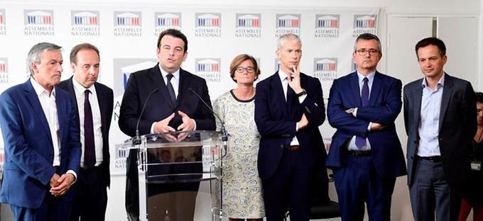 Thierry Solere annonce la création du groupe les «constructifs» le 21 juin 2017.