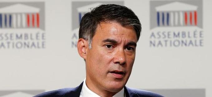 Olivier Faure, président du groupe socialiste à l'Assemblée.