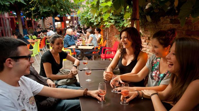 Toulouse cultive une certaine forme de bonheur de vivre. © Patrick Poupart