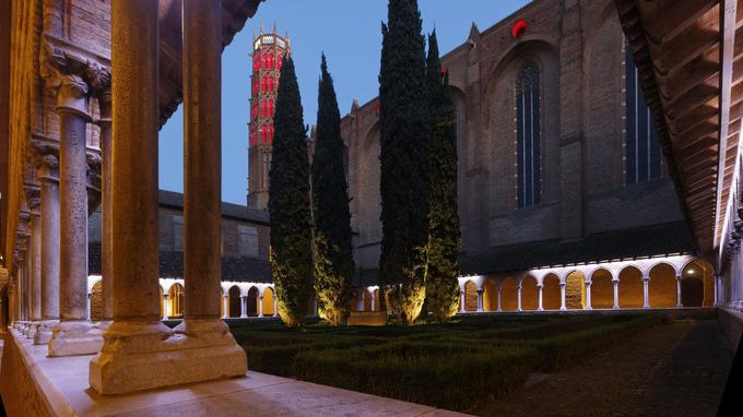 Le cloître du couvent des Jacobins. © Grands sites midi Pyrénées