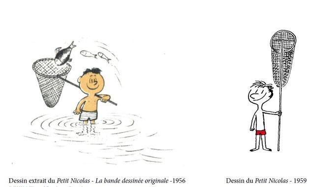 Dans la bande dessinée du Petit Nicolas créée en 1955 par Sempé et Goscinny, se trouve déjà la préfiguration du futur Petit Nicolas qui s'épanouira en roman pour la jeunesse.