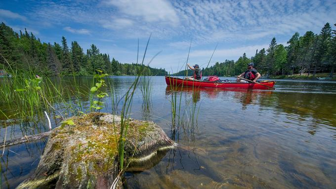 Au cœur du Témiscamingue, le lac Kipawa se découvre au rythme lancinant des pagaies à la façon des anciens coureurs des bois.