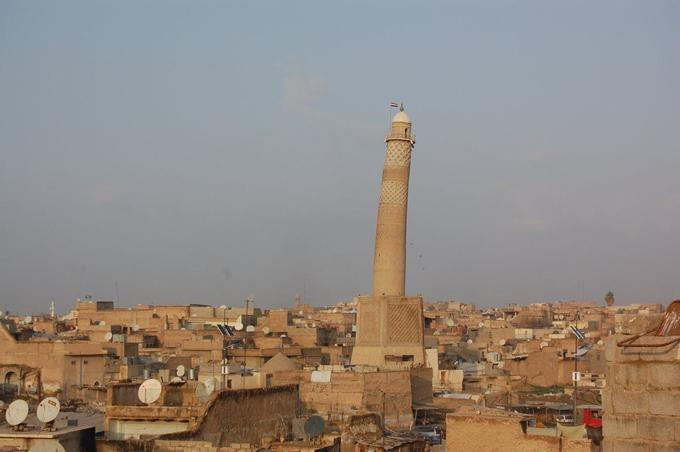 La mosquée d'Al-Nouri est l'un des trésors historiques de Mossoul.