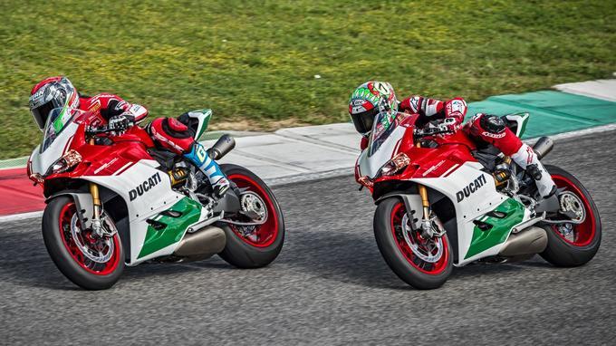 Cette Panigale représente l'ultime hommage au bicylindre Ducati.