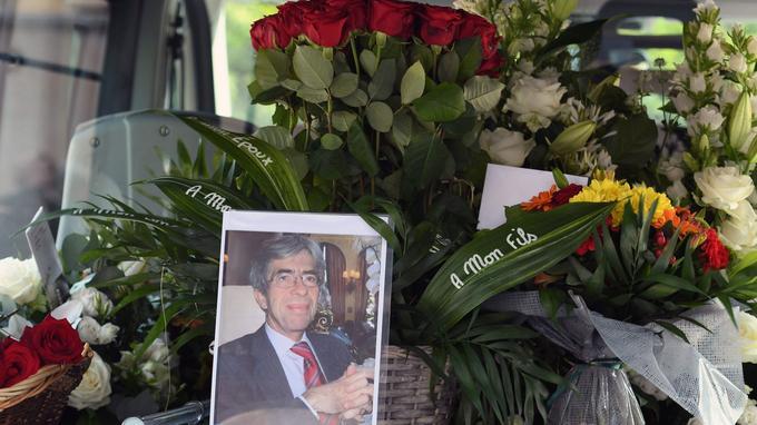 Les adieux au juge Lambert dans la cathédrale Saint-Julien, au Mans.