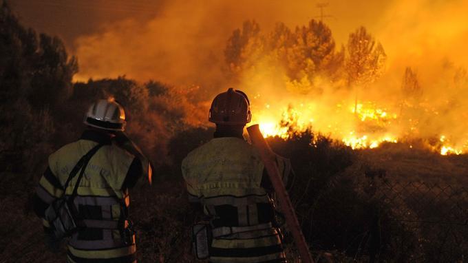 Incendies près de Marseille. <i>ANNE-CHRISTINE POUJOULAT / AFP</i>