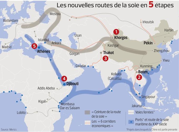 <i>Le Figaro</i> s'est rendu sur cinq étapes de ces Nouvelles routes de la soie.