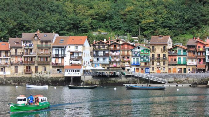 Pasaia Donibane, côté espagnol du Pays Basque. © S. Delaunay