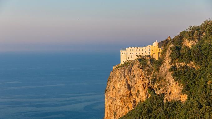 Le Monastero Santa Rosa, près d'Amalfi, est aujourd'hui un hôtel.