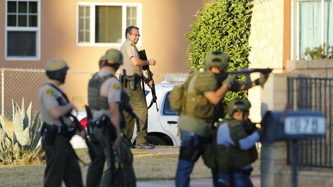 Les terroristes ont été abattus après une chasse à l'homme à San Bernardino.