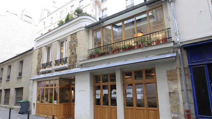 Le restaurant Botanique, situé 71, rue de la Folie-Méricourt (Paris XIe).