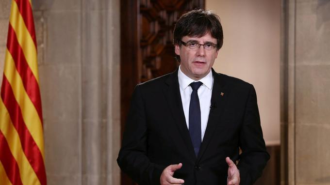 «Le roi ignore délibérément des millions de Catalans qui ne pensent pas comme eux», déclarait mercredi le président de la Catalogne, Carles Puigdemont, lors d'une allocution télévisée.