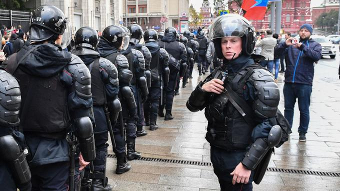 À Moscou, contrairement aux meetings précédents, la police n'a procédé à aucune arrestation notable malgré l'interdiction du rassemblement.