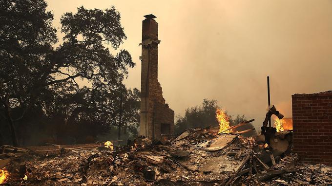 Des maisons ont été totalement détruites.