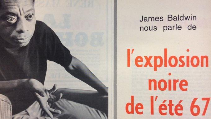 Le Figaro Littéraire du 31 juillet 1967 donne la parole à James Baldwin.