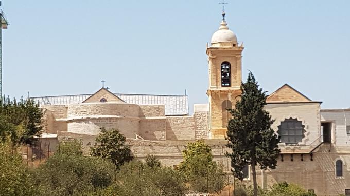 Basilique de la Nativité.