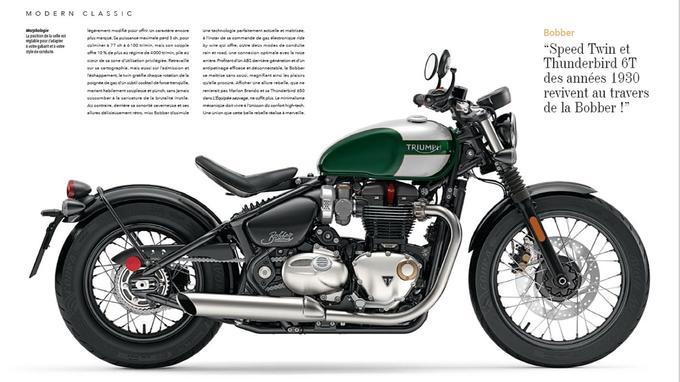 La Bonneville Bobber, l'un des derniers modèles de Triumph, fait revivre les années 1930 avec une technologie moderne parfaitement camouflée.