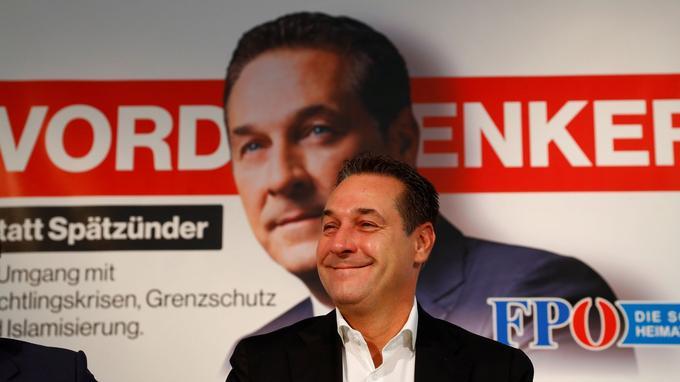 Heinz-Christian Strache, patron du FPÖ.