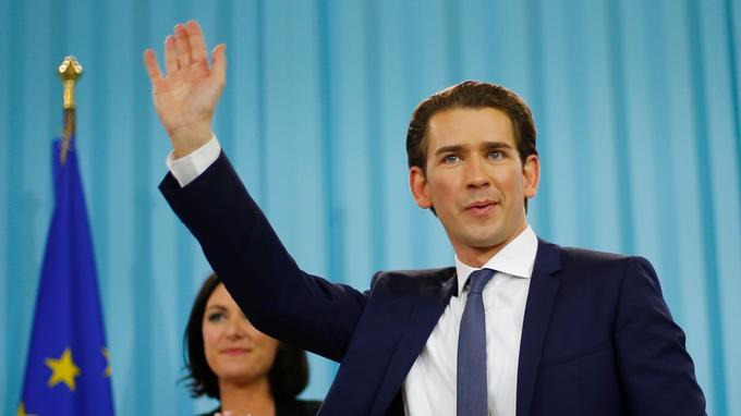 Si Sebastian Kurz, 31 ans, parvient à former une coalition de gouvernement, il deviendra le plus jeune dirigeant au monde.