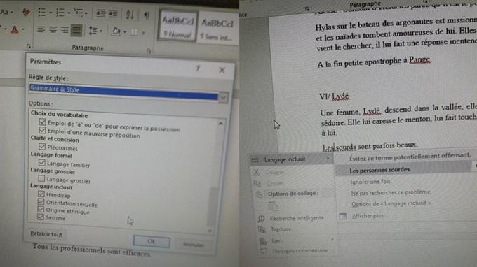 Microsoft intègre le langage inclusif dans Word