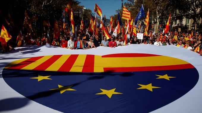 Drapeau des unionistes catalans