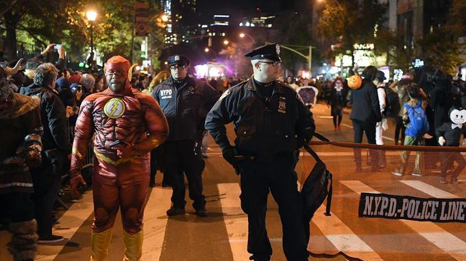 L'événement s'est déroulé sous forte protection policière.