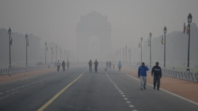 New Delhi en pleine asphyxie — Pollution