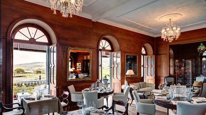 Au rez-de-chaussée, la salle à manger. © Heritage.